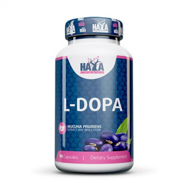 Haya Labs L-DOPA Mucuna Pruriens Extract 90caps