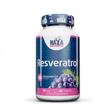 Haya Labs Resveratrol 40mg 60tabs
