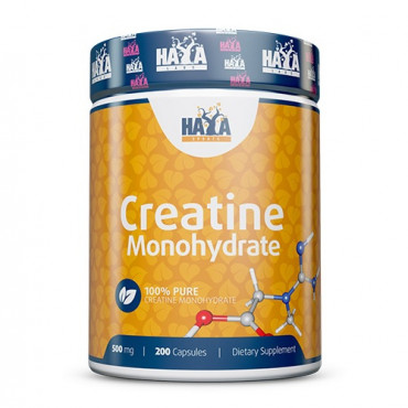 Haya Labs Creatine Monohydrate 500mg 200caps