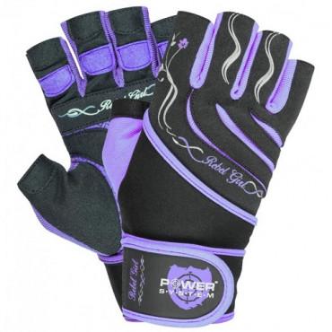 Power System Gloves Rebel Girl Purple