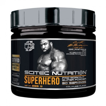 Scitec Superhero Pre-Workout 285g