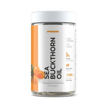 Prozis Sea Buckthorn Oil 500 mg 60 softgels