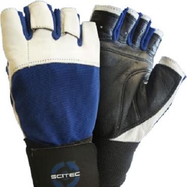 "Scitec Gloves ""Blue Power"""