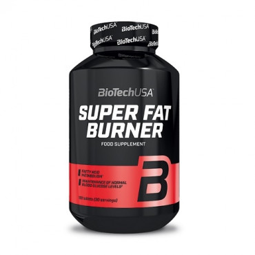 BioTech USA SUPER FAT BURNER, 120tabs