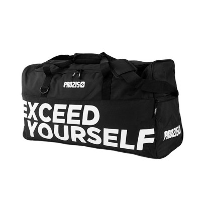 Prozis Exceed Yourself Black-White Gym Bag