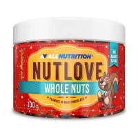 AllNutrition Nutlove Whole Nuts Peanuts In Milk Chocolate 300g