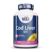 Haya Labs Cod Liver Oil 1000mg 100 softgels