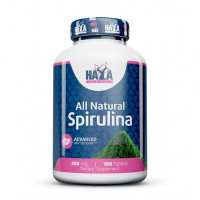Haya Labs All Natural Spirulina 500mg 100tabs