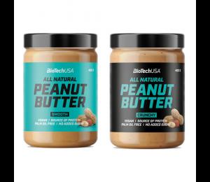 BioTech USA Peanut Butter 400g (Parim enne: 05.08.2021)