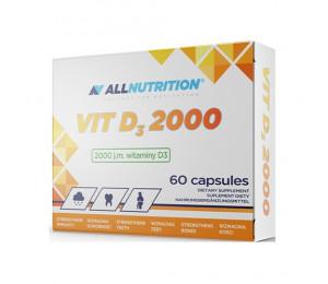 AllNutrition Vitamin D3 2000IU 60 softgels