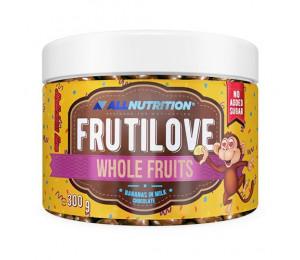 AllNutrition Frutilove Whole Fruits Bananas In Milk Chocolate 300g