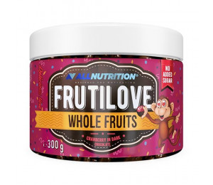 AllNutrition Frutilove Whole Fruits Cranberry In Dark Chocolate 300g