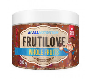 AllNutrition Frutilove Whole Fruits Raisins in White Chocolate with a hint of Coffee 300g