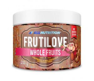 AllNutrition Frutilove Whole Fruits Raspberry in Milk Chocolate with Raspberry Powder 200g
