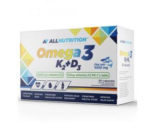 AllNutrition Omega 3 K2 D3 30caps