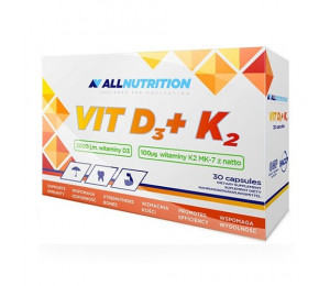 AllNutrition Vitamin D3 + K2 30caps