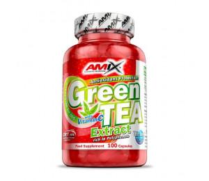 AMIX Green TEA Extract with Vitamin C 100caps