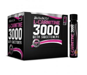 BioTech USA L-Carnitine 3000MG Ampule Pack (20*25ml)