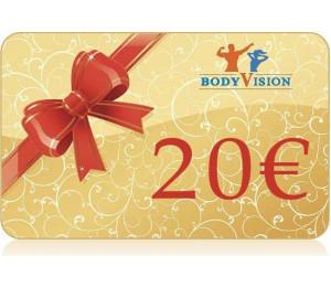 Подарочная карта - 20€