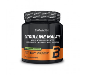 BioTech USA Citrulline Malate 300g - Green Apple