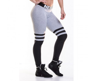 Nebbia Leggings Over the knee 286 Grey