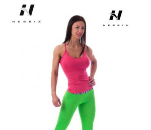 Nebbia Tight Singlet 224 Red