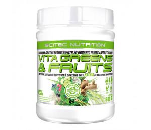 Scitec Vita Greens & Fruits with Stevia 360g