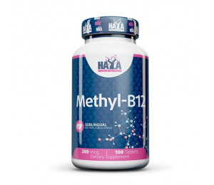 Haya Labs Methyl B-12 200mcg 100tabs