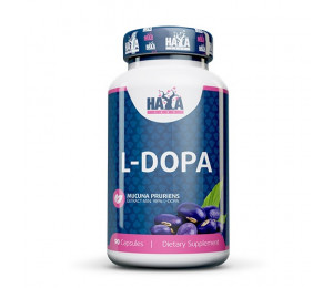 Haya Labs L-DOPA Mucuna Pruriens Extract 90caps