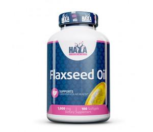 Haya Labs Flax Seed Oil Organic 1000mg 100softgels
