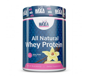 Haya Labs 100% All Natural Whey Protein 454g - Vanilla