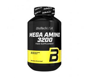 BioTech USA Mega Amino 3200, 100 tabl