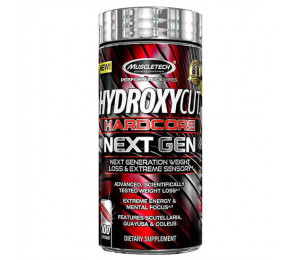 MuscleTech Hydroxycut Hardcore Next Gen 100caps