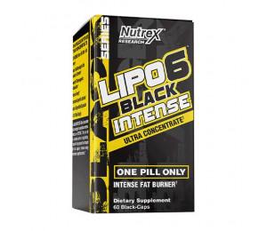 Nutrex Research Lipo-6 Black Intense UC 60caps