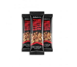 Biotech USA Nuts & Fruits Bar 40g