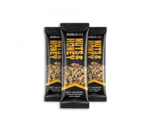Biotech USA Nuts & Honey Bar 35g