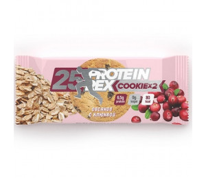 "ProteinRex Cookie 50g ""Oatmeal Cranberries"" (Parim enne: 05.2020)"