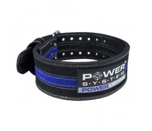 Power System Belt Powerlifting Blue