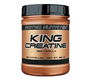 Scitec KING CREATINE, 120caps
