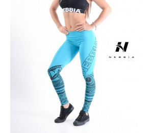 Nebbia Leggings Tights Tattoo 215 Blue