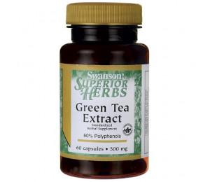 Swanson Green Tea Extract 60caps
