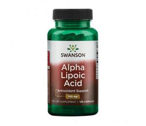 Swanson Alpha Lipoic Acid 100mg 120caps