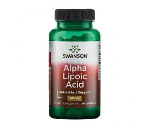 Swanson Alpha Lipoic Acid 600mg 60caps