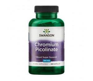 Swanson Chromium Picolinate 200mcg 200caps