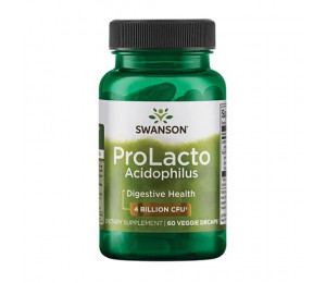 Swanson ProLacto Acidophilus 4 billion CFU 60vcaps