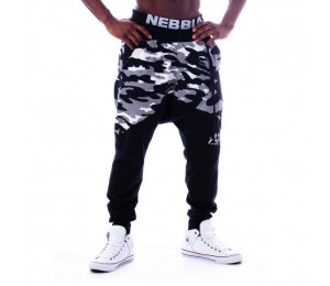 Nebbia Sweatpants Camo 117 Black