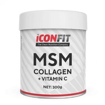 ICONFIT MSM Collagen + Vitamin C, 300g