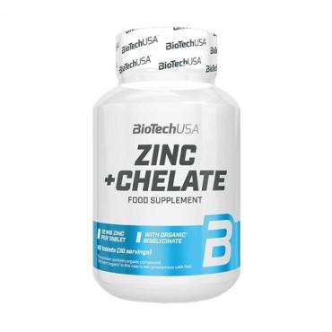 BioTech USA Zinc + Chelate 60 tabs